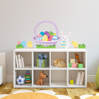 Easter Fun Printed Wall Decal