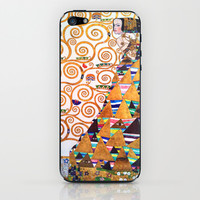 Love & Expectation - Gustav Klimt iPhone & iPod Skin by BeautifulHomes