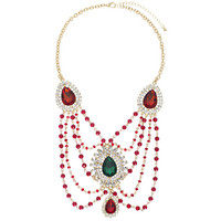 The Royal Mughal Rubies Necklace