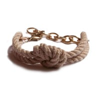 I liked this design on #Fab. Hot Knot Bracelet White