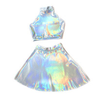 Holographic Twin Set