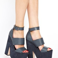 ASOS HAZED Leather Heeled Sandals