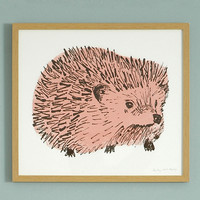 Hedgehog Junior Print - Sian Zeng
