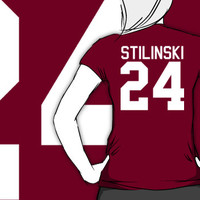 Stiles Stilinski's Jersey - white text