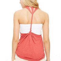 Feather Braid Back Tank