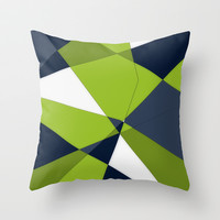 Phrendly Fragments Throw Pillow by DuckyB (Brandi)
