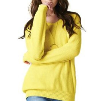 Tov Women's Oversized Cotton Sweater