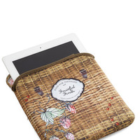 Strawberry Picnicking Tablet Case