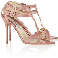 Brian Atwood Gaelle studded leather sandals – 60% at THE OUTNET.COM