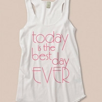 Bride and Bridal Party Today Is The Best Day Ever Tank Top Bridesmaids Gift