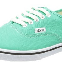 Vans Unisex Authentic Lo Pro Sneaker - Mint Leaf True White