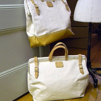 Museum of Useful Things - 18&quot;&quot; Canvas | Leather Mason Bag
