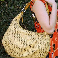 Shiraleah Lotta Mimosa Vegan Hobo Bag