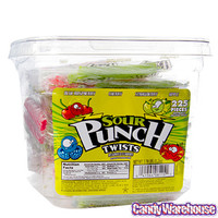 Mini Sour Punch Twists - Wrapped: 225-Piece Tub