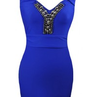 The Blue Mine Party Dress