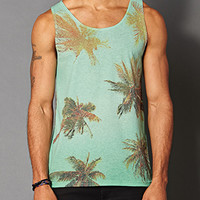 Heathered Palm Tree Tank