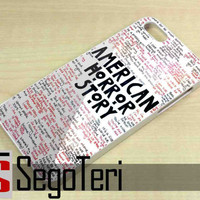 American Horror Story Quotes - iPhone 4/4S, iPhone 5/5S, iPhone 5C and Samsung Galaxy S3, S4