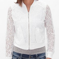 Ashley Lace Overlay Jacket