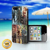 The Hobbit, Percy Jackson, The Hunger Games, Harry Potter, Maze Runner and Divergent - For iPhone case. Please choose the option