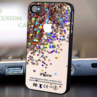 Apple Logo Sparkle Glitter - For iPhone 4/4S,5,5C,5S and Samsung S2, Samsung S3, Samsung S4 Case.