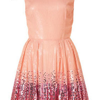 **Ombre Sequin Prom Dress By Dress Up Topshop - Dress Up Topshop - Collections - Topshop