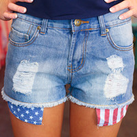 American Dreams High Rise Shorts