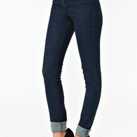 Second Skin Jeans - Dark Wash  in  What's New at Nasty Gal
