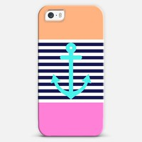 Girly Summer Nautical iPhone 5s case by Organic Saturation | Casetagram
