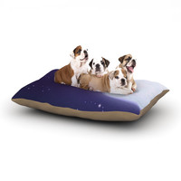 "Fotios Pavlopoulos ""Full Moon"" Night Sky Dog Bed"