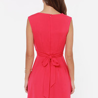 Darling Keeley Hot Pink Dress