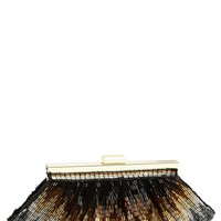 Nina Beaded Frame Clutch