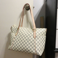 Designer inspired Handbag mm - Damier print bag, purse, satchel tote new gm