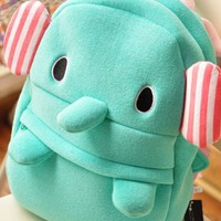 Cute Elephant Plush Backpack