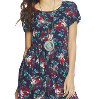 Short Sleeve Babydoll Dress | Wet Seal