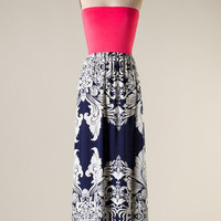 Sun is Shining Maxi Dress - Navy - Hazel & Olive