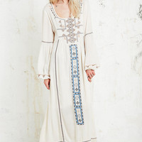 Free People Desert Wind Maxi Dress in Cream - Urban Outfitters