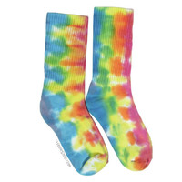 Morning Dew Tie Dye Crew Socks on Sale for $9.95 at HippieShop.com