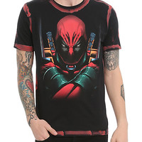 Marvel Deadpool Oversized Slim-Fit T-Shirt