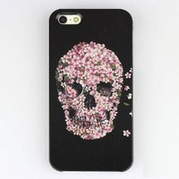 JIAXIUFEN Sugar Skull Hard Plastic Shell Case Cover Skin Protector For Apple iPhone 5 5G 5S