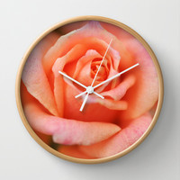 A Time to Bloom... Wall Clock by Lisa Argyropoulos
