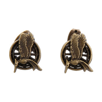 The Hunger Games: Catching Fire Mockingjay Earrings