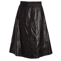 Ashbury Vegan Leather Skirt