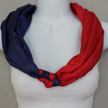 Minnesota Twins Scarf Boston Red Sox Scarf LA Angels Scarf Indians Scarf MLB Scarf Baseball Scarf Braided Scarf Braid Scarf Sports Scarf