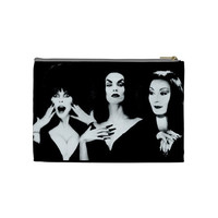 Ghoul Girls Elvira, Vampira and Morticia Makeup Bag Size Medium