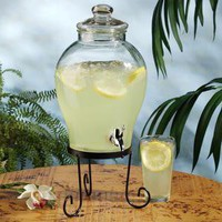Del Sol Beverage Jug with Stand