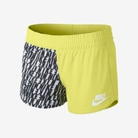 Nike Remix Women's Shorts - Venom Green