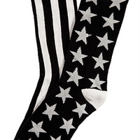 Jai Alai Series Socks - Black/White