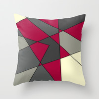 Gloomy Spring Day Throw Pillow by DuckyB (Brandi)