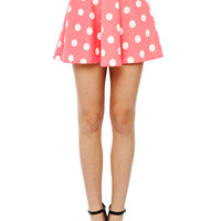 Papaya Clothing Online :: DOT PRINT SKATER SKIRTS