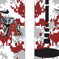 Alabama Inspired Custom Nike Elite Socks